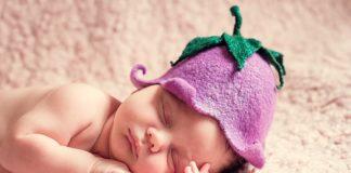 Zdrowy sen niemowlęcia