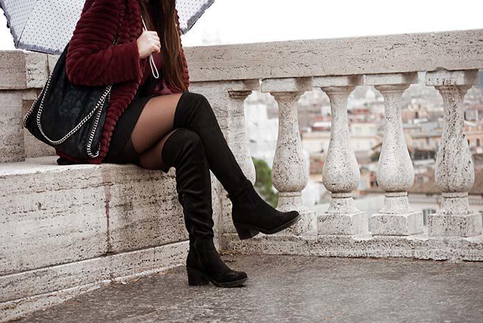 Kozaki za kolano – stylizacje na każdą porę roku