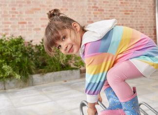 Wiosna zbliża się wielkimi krokami! Wygodne i naturalne dziecięce ubranka z najnowszej kolekcji Tchibo