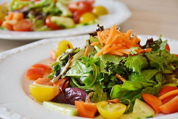 Kolorowe sałatki